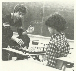 Alberto Barone and Renato Alessandrini (Chess club).