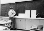 One of three grade 13 math classes each day, 1968