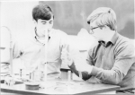 Mr. Kerr's grade 13 science class, 1968.