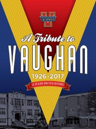 Front cover of Vaughan Tribute Magazine