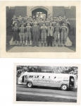 Football Team, late 40's  Jack Kirkpatrick, Tom Bennett, Ron Satok, Harvey Eisen, Bob Davies, Ted Richardson